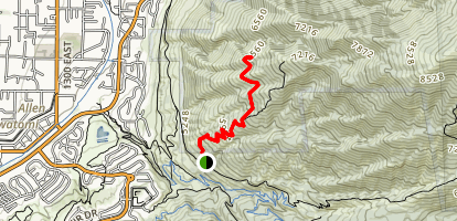 Sivogah Trail Map