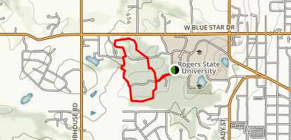 Rogers Conservation Education Reserve Map