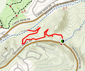 Red Potato Trail Map