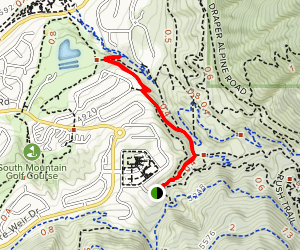 Creek View Trail Map