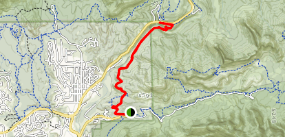 Huckaby Trail Map