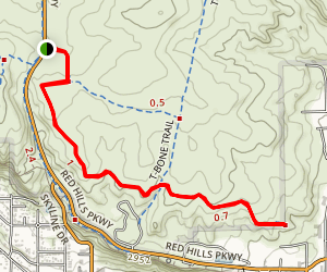 Pioneer Hills Trail Map
