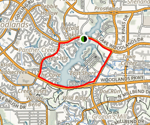 Lake Woodlands Trail Map