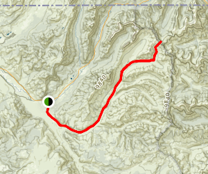Cache Creek Trail Map