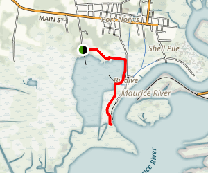 The Maurice River Estuary Trail Map