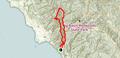 Westridge-Henry Creek Loop Trail Map