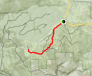 Lyons Ranch Trail Map
