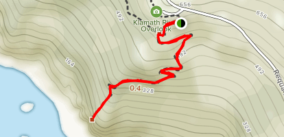 Klamath Overlook Map