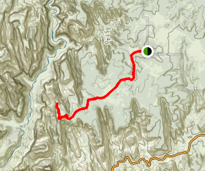Deertrap Mountain Trail Map