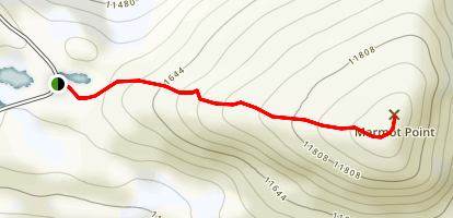Marmot Point Trail Map