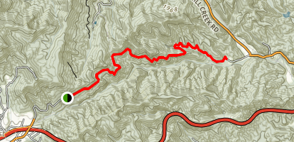 Point Lookout Trail Map