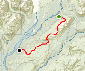 Kesugi Ridge (Curry Ridge) Trail Map
