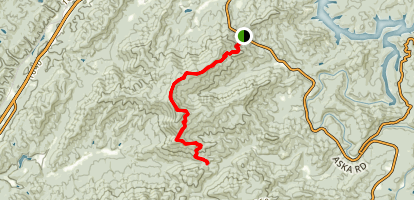 Stanley Gap Map