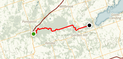 Ganaraska Oak Ridges Trail Map