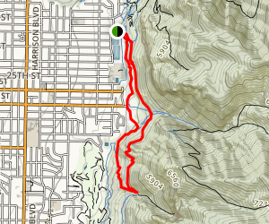 22nd Street Trail Map