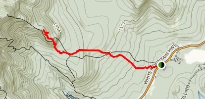 Carter Ledge Trail Map