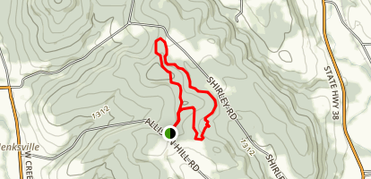 Jenksville State Forest Loop Map