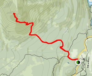 Mount Healy Overlook Trail Map