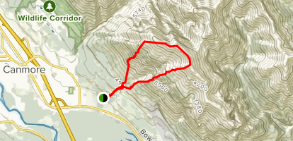 Grotto Mountain Trail Map