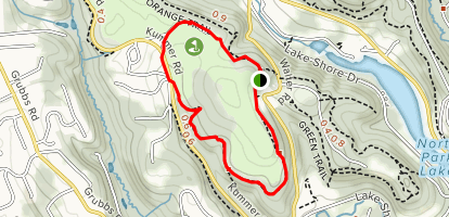 North Park Golf Course Loop Map
