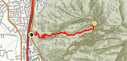 Mount Olympus Trail Map