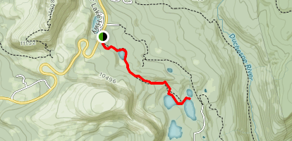 Fehr Lake Trail Map