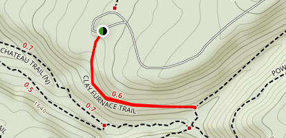 Clay Furnace Trail Map