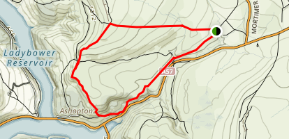 Derwent Moors Loop Map