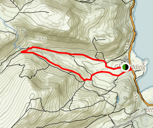 Glenridding and Greenside Mine Loop Map