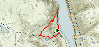 Harrop Tarn Loop Map