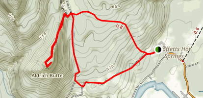 Aldrich Butte Trail Map