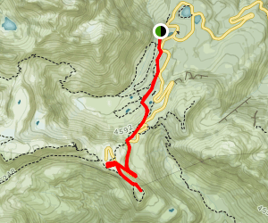 Upper Lodge to Artist Point Trail Map