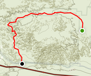 Pinkham Canyon Road Map