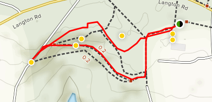 Rusthall Common Loop Trail Map