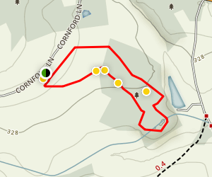 Pepenbury Loop Trail Map
