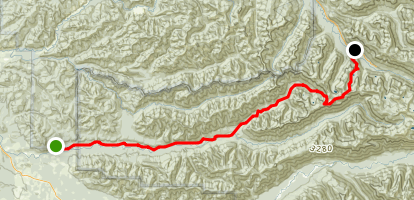 Bogachiel River Trail Map