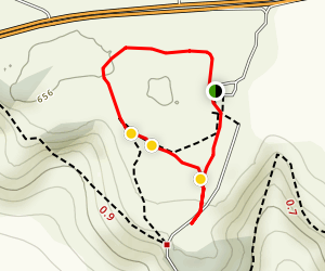 White Horse Wood Loop Map