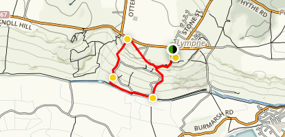 Lympne Loop Map