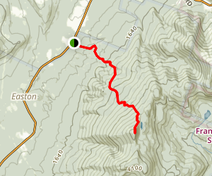 North Kinsman Via Kinsman Ridge Trail Map