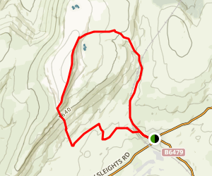 Whernside Loop Trail Map