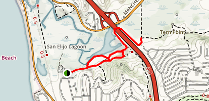 Rios Avenue Trail Map