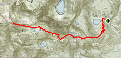 Herman's Peak Map