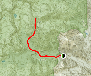 Mount Columbia Trail Map