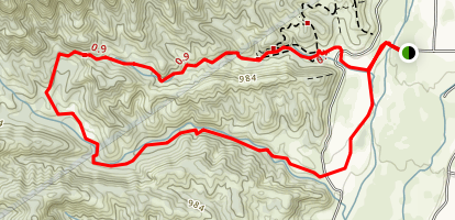 Wills-Rice Loop Trail Map