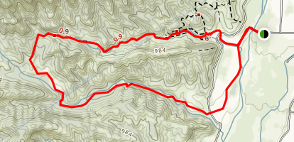 Wills-Rice Loop Trail (CLOSED) Map