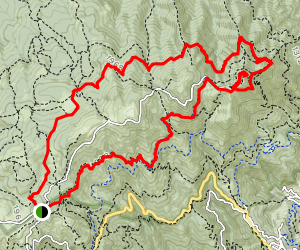 Rock Spring Trail Map