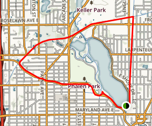 Bruce Vento and Gateway Trails  Map