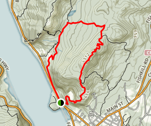 Cornish Estate Trail Loop Map