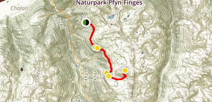Toûno Mountain Trail Map
