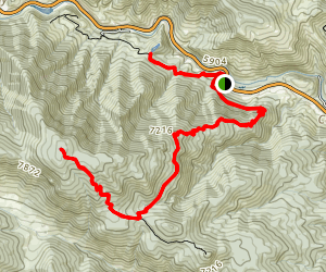Round Mountain Nature and Summit Trails [CLOSED] Map
